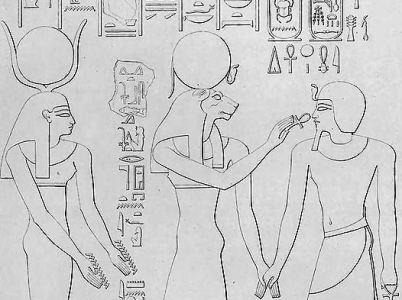 Alcune dee dell'antico Egitto