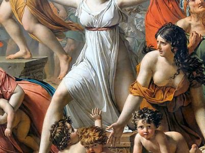 Ersilia, colei che patrocinò l'alleanza fra romani e sabini