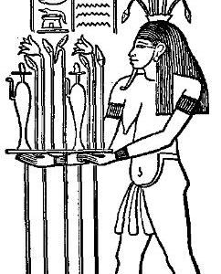 Hapy, la personificazione dello straripamento annuale del Nilo