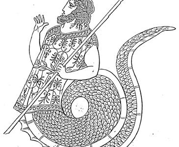 Cecrope: il mitico fondatore di Atene, metà uomo e metà serpente