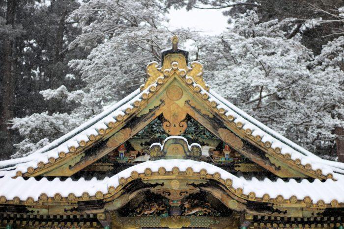 Nikko sous la neige