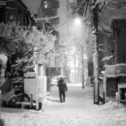 Neige à Takadanobaba (21)