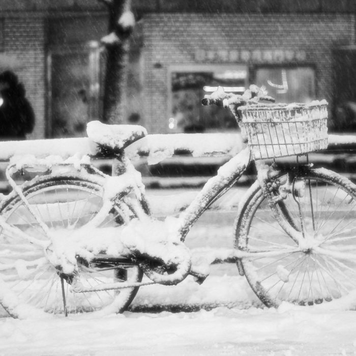 Il a neigé à Takadanobaba