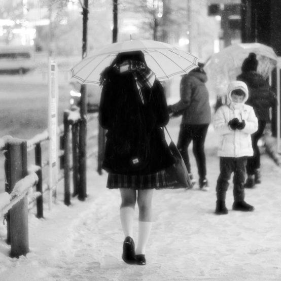 Neige à Takadanobaba (9)