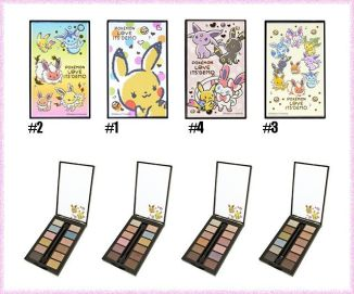 Palette de maquillage Pokemon