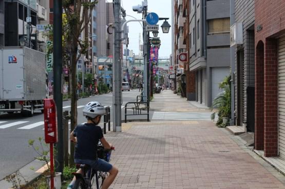 De Takadanobaba à Koenji à vélo (23)