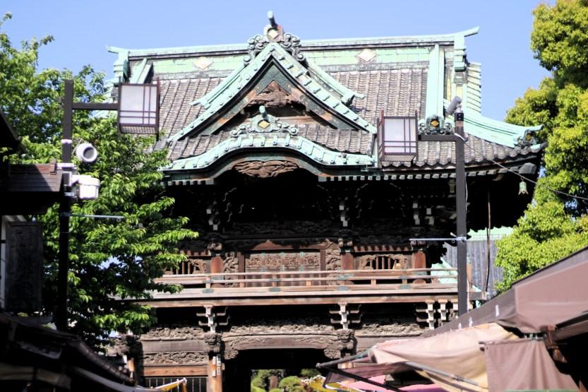 Shimabata Shrine and garden