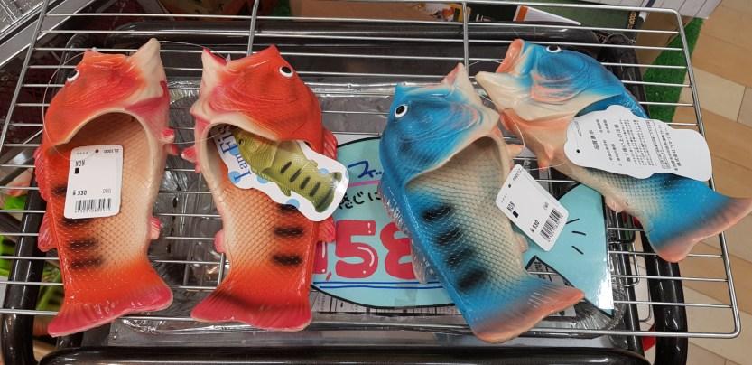 Magnifiques sandales poissons