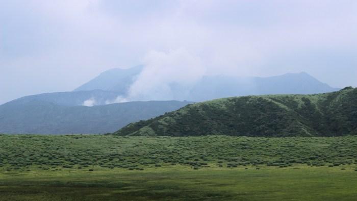 Randonnée au Mont Aso