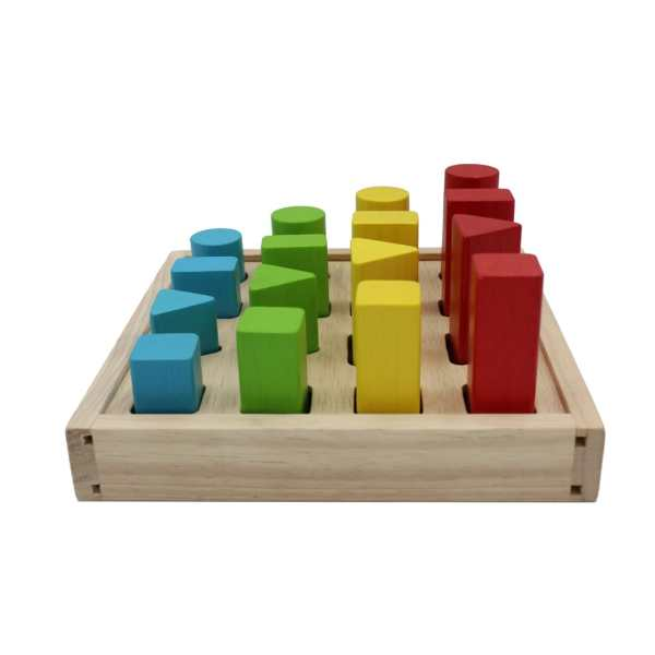 Geometrical Peg Board 4