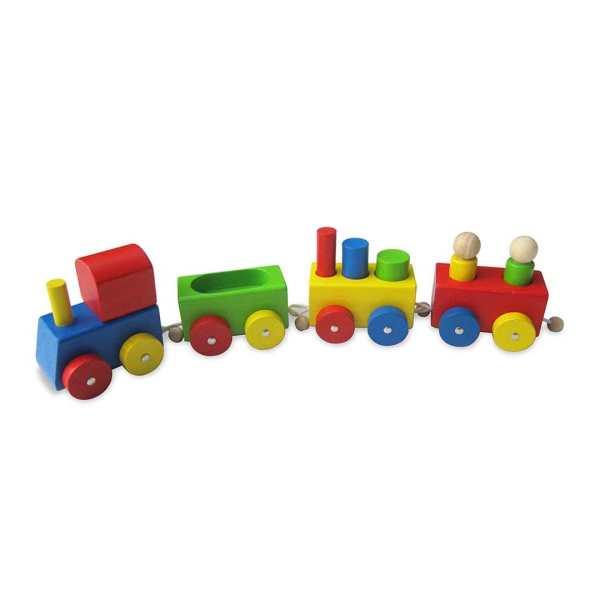 Mini Wooden Train 1