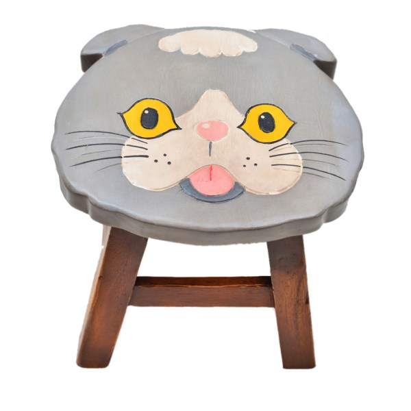 Scottish Fold Stool 2