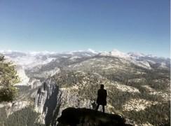 Yosemiten kansallispuiston huimat maisetmat tekivät vaikutuksen, vaikka Suvi Suomen Lapin puolesta liputtaakin. Kuva: Instagram.