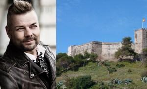 Tähän linnaan Jari Sillanpää suunnittelee jättikonserttia Fuengirolaan