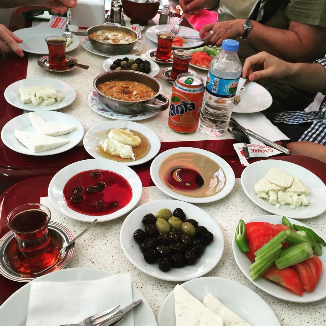 Authentic Turkish breakfast
