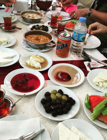Authentic Turkish breakfast