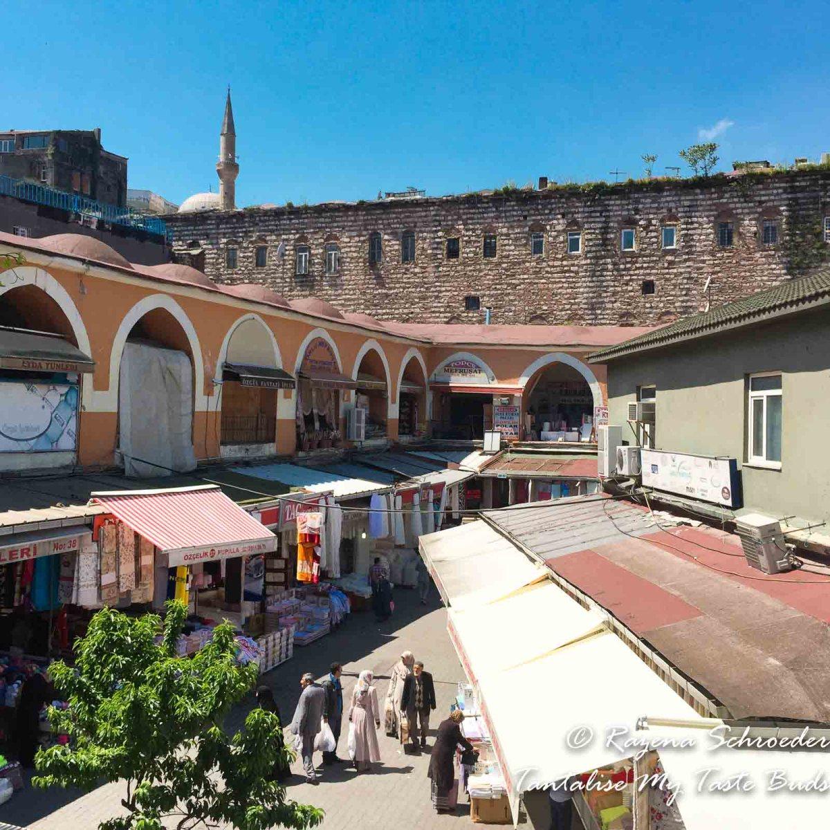Backstreets of the Bazaar Quarter