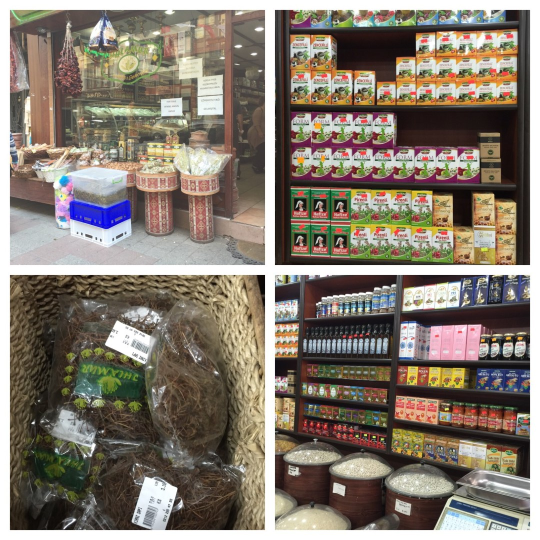 Natural apothecary with herbal remedies