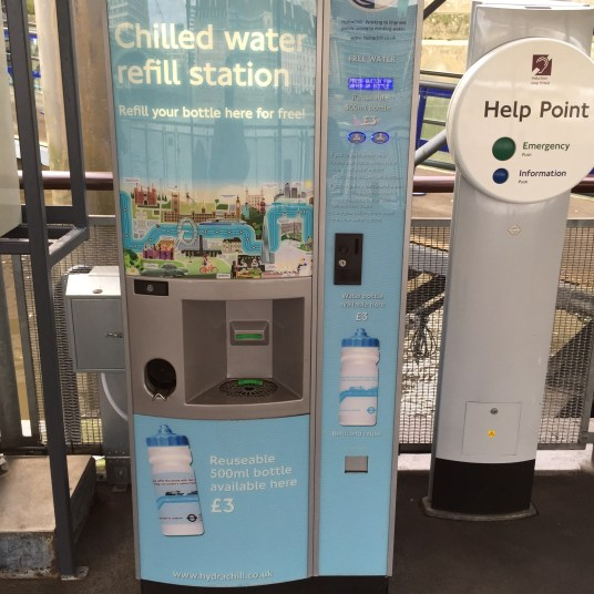 Chilled water refill