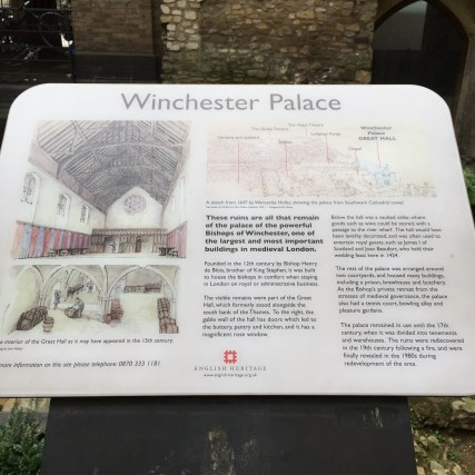 Winchester Palace history
