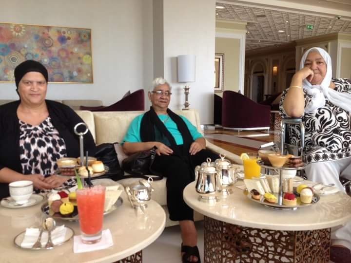 Waldorf Astoria Ras Al Khaimah afternoon tea
