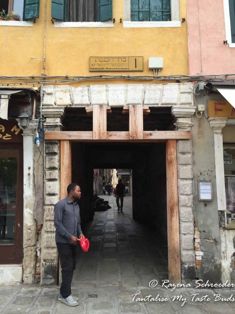 Beggar at the Ghetto gate
