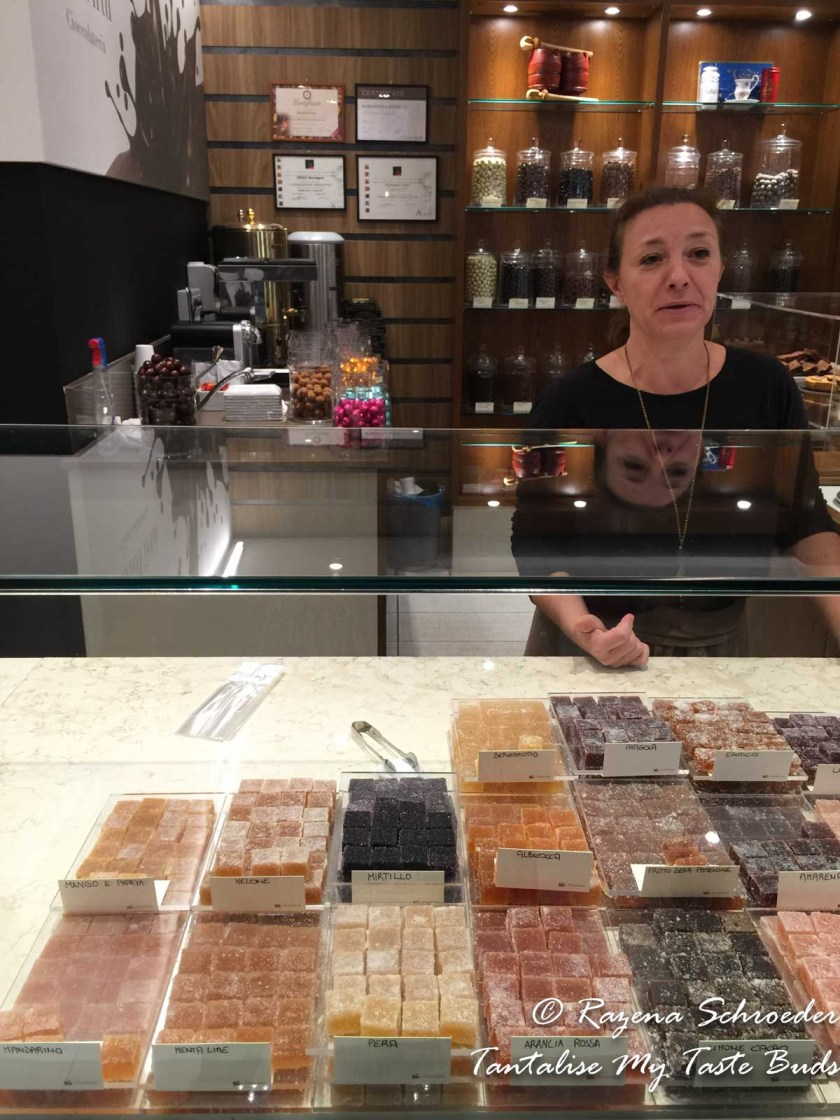 Owner of chocolate shop