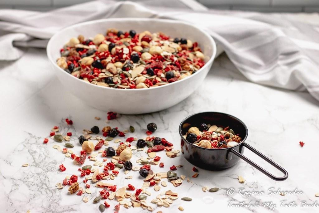 Toasted Luxury Berry Nut Muesli
