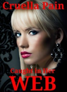 Beautiful blonde young woman in luxury fur coat