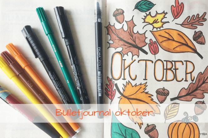 Bulletjournal klaar voor oktober