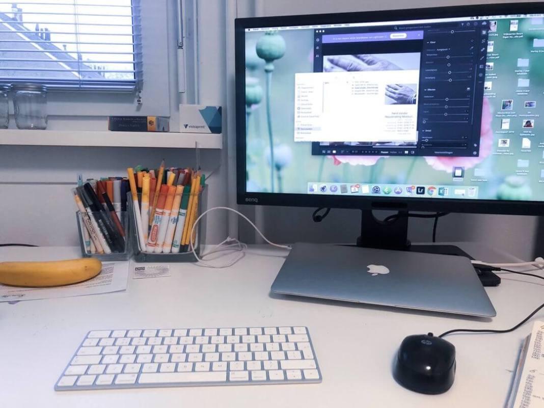 Eindelijk in mijn nieuwe kantoor werken