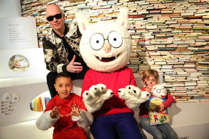 Paul van Loon bij de kinderboekenparade