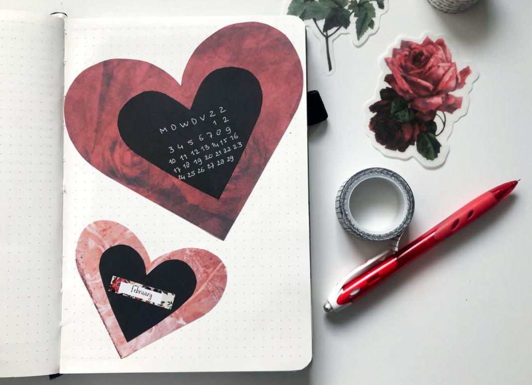 februari bullet journal
