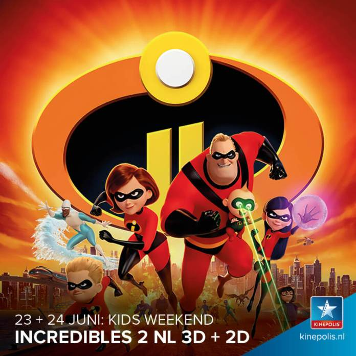 kids weekend Incredibles 2