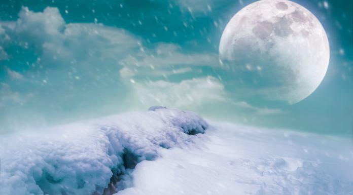 volle maan op 28 januari