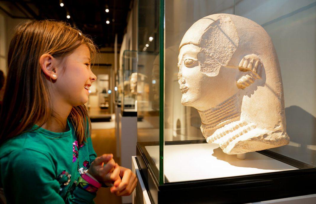 voorjaarsvakantie in het Rijksmuseum van Oudheden
