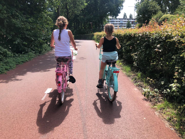 zomervakantie van 2020 samen fietsen