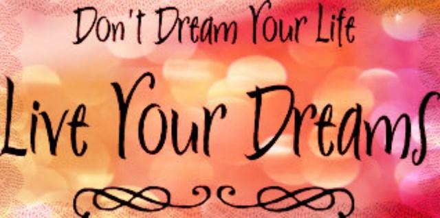 Afbeeldingsresultaat voor leef je droom
