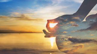 SANTOSHA se podría interpretar como contentamiento