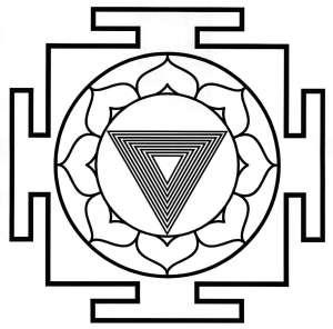 Las 10 Mahavidyas o representaciones de la Devi  Tripura Bhairavi