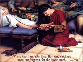 María de Magdala y Jesús