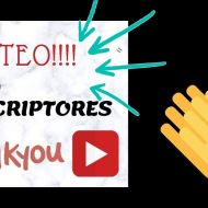 Sorteo en YouTube ;)