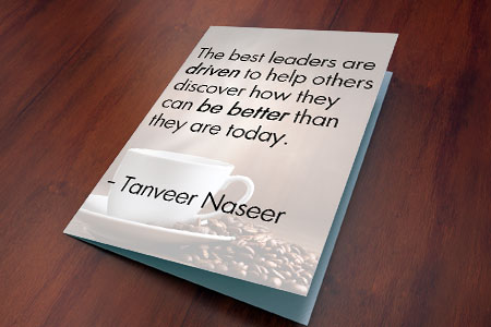 An end-of-year note to inspire leaders to challenge their outlook for how they will empower the best in those they lead.