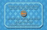 Carte de visite verso Haye d Iree