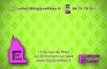 carte de visite verso Espace Flirey 25-03-2010