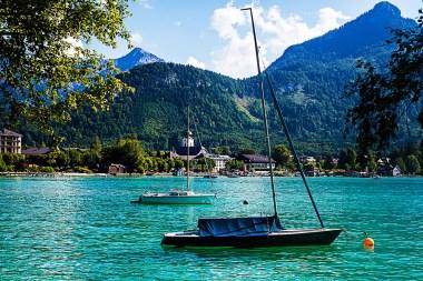 Austrian lake Mondsee