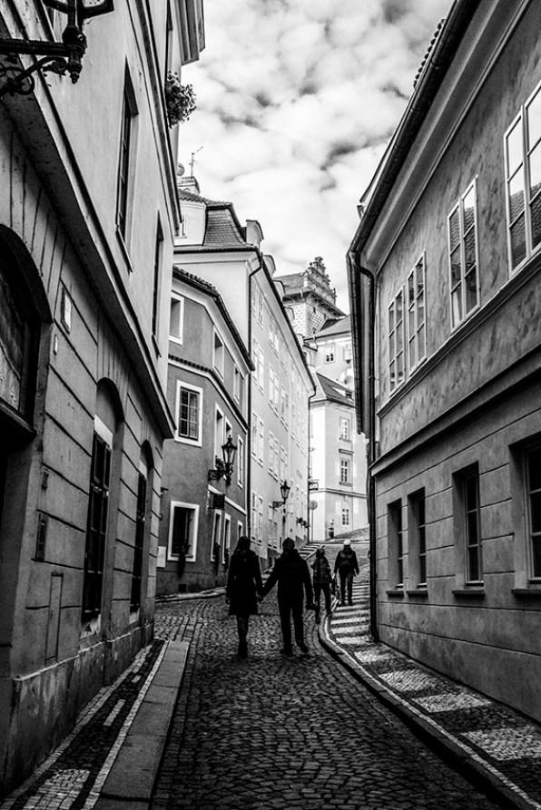 Prague Pold town street photographed by Fine Art Photographer Tanya Antalikova