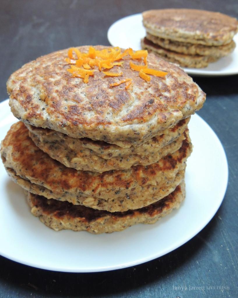 Orange Poppyseed Pancakes 4