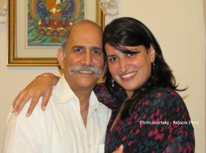 Nafeeza Pavri & her Dad