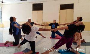 Yoga class by Anita Pandit1